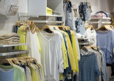 casual clothes   in boutique
